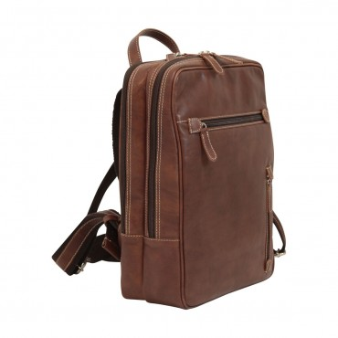 """Leather backpack """"Pulawy..."""