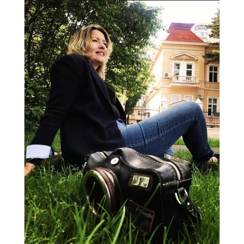 """Torebka Damska Skórzana """"Fotocamera"""""""