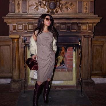 "Borsa donna in pelle ""Lady Brunelleschi"" C120N"