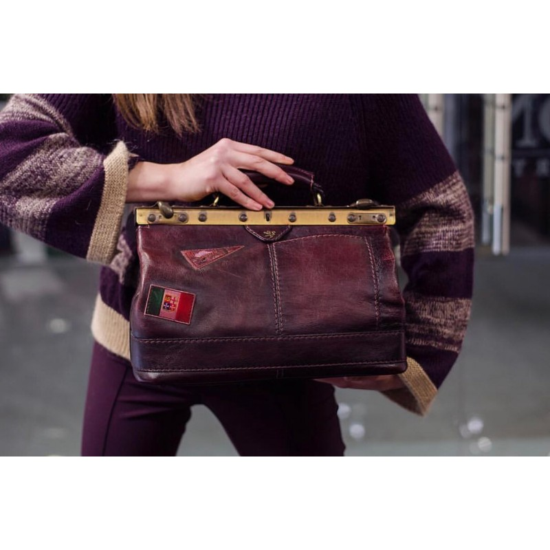 "Leather Lady bag ""San Casciano"""