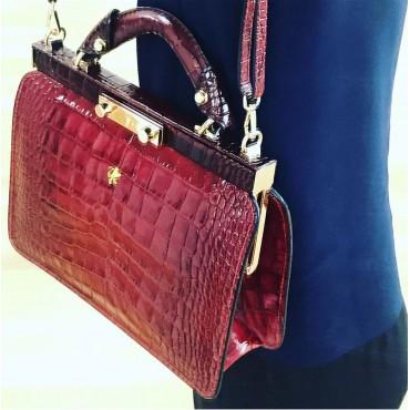 "Leather Lady bag ""Vittoria Colonna"" K153"