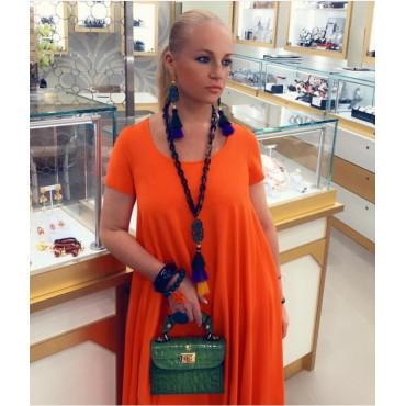 "Leather Lady bag ""Lucignano"" K280/20"