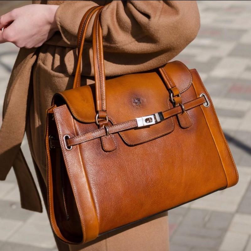 """Leather Lady bag """"Baratti"""" B305"""