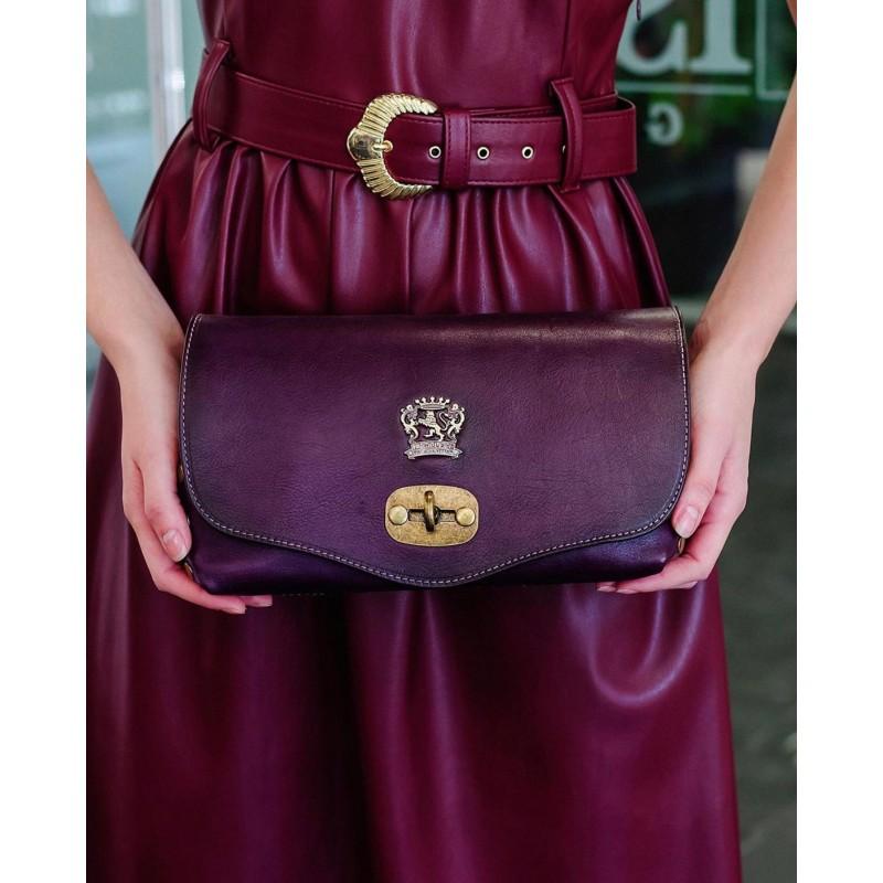 "Leather Lady bag ""Castel Del Piano"" B161"