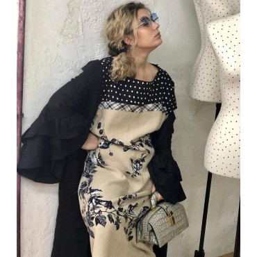 """Leather Lady bag """"Lady Brunelleschi"""" K120/N"""