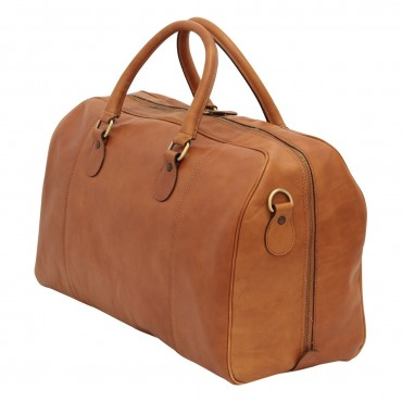 "Leather duffel bag ""Ostrawa"" C"
