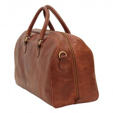 "Leather duffel bag ""Ostrawa"" B"
