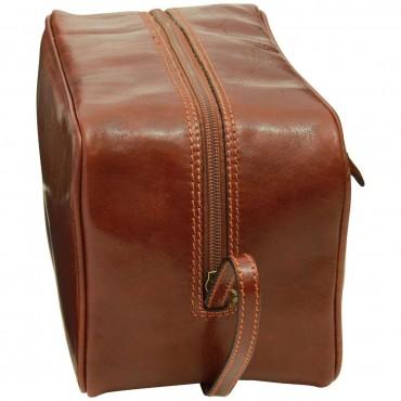 """Leather Beautycase """"Turek"""" BR"""