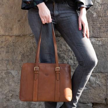 "Leather Lady bag ""Rocchette"""