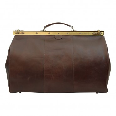 "Leather travel bag ""Toruń"" BC"
