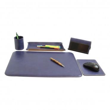 "Leather desk kit ""Warszawa"" CO"