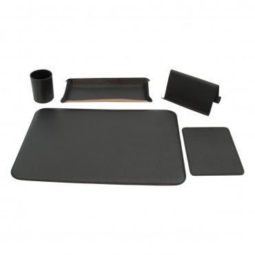 """Leather desk kit """"Poznań"""" NE"""