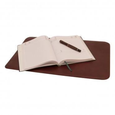 """Leather desk pad """"Warszawa"""" MA"""