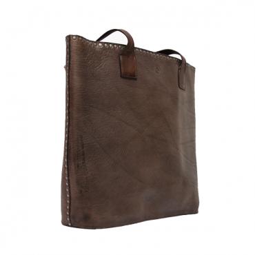 "Leather Lady bag ""Teschi..."