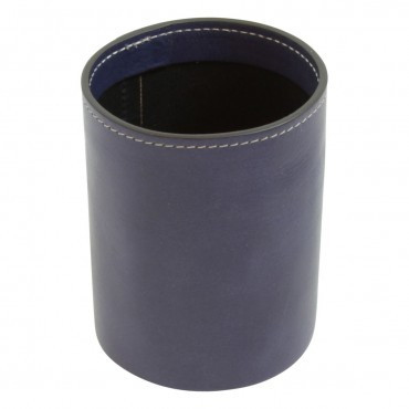 "Leather pen cup ""Warszawa"" CO"