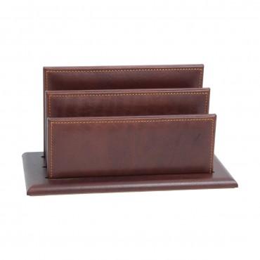 Luxurious leather desk...