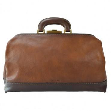 "Leather Bag ""Doctor"" B562"