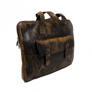 "Leather bag ""Lipnica"""