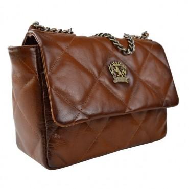 "Women's leather bag ""Quarrata"""