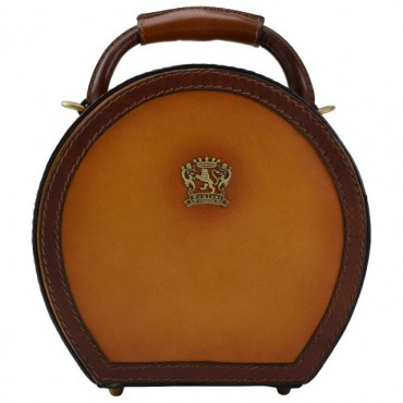 Leather Hat box, small