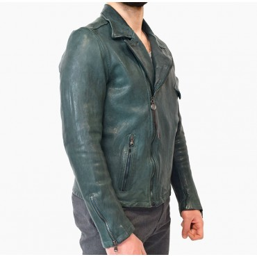 """Leather man jacket """"Chiodo MT"""""""