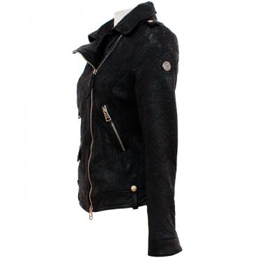"Leather Lady jacket ""Liguria"""