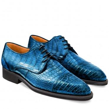 Men Shoes Classic in Crocodile