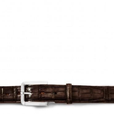Men's crocodile leather...