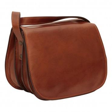 Leather shoulder bag bag...