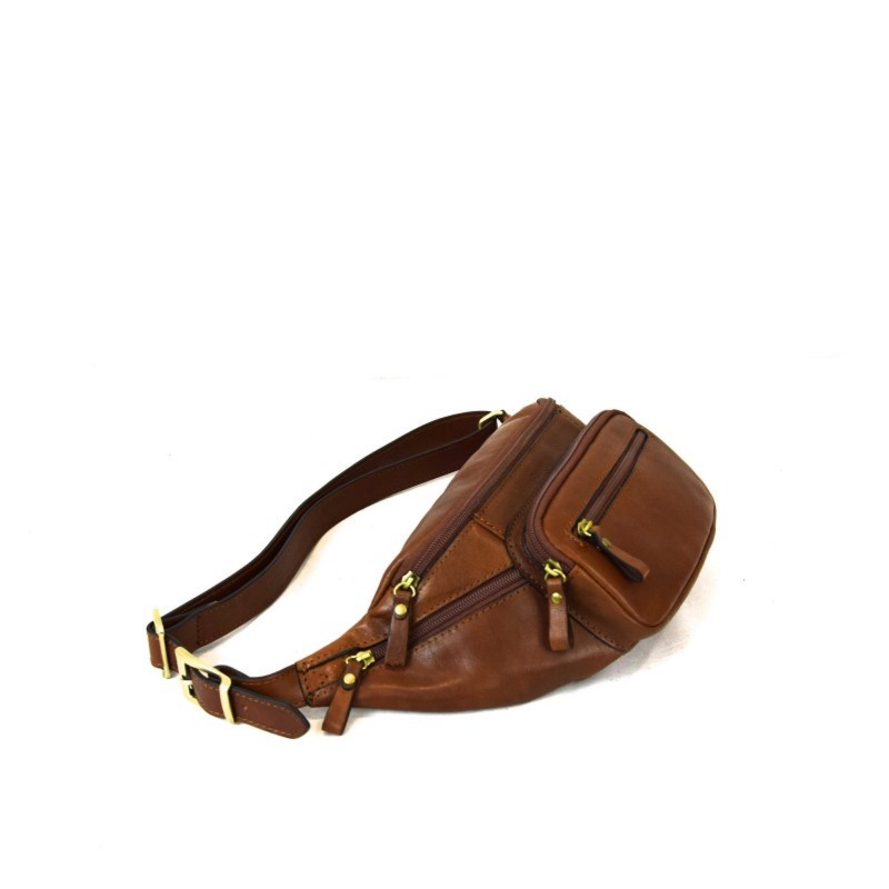 """Leather Man pouch """"Fontorio"""" brown"""