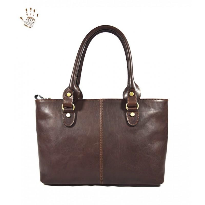 "Leather Lady bag ""Albegna"" BC"