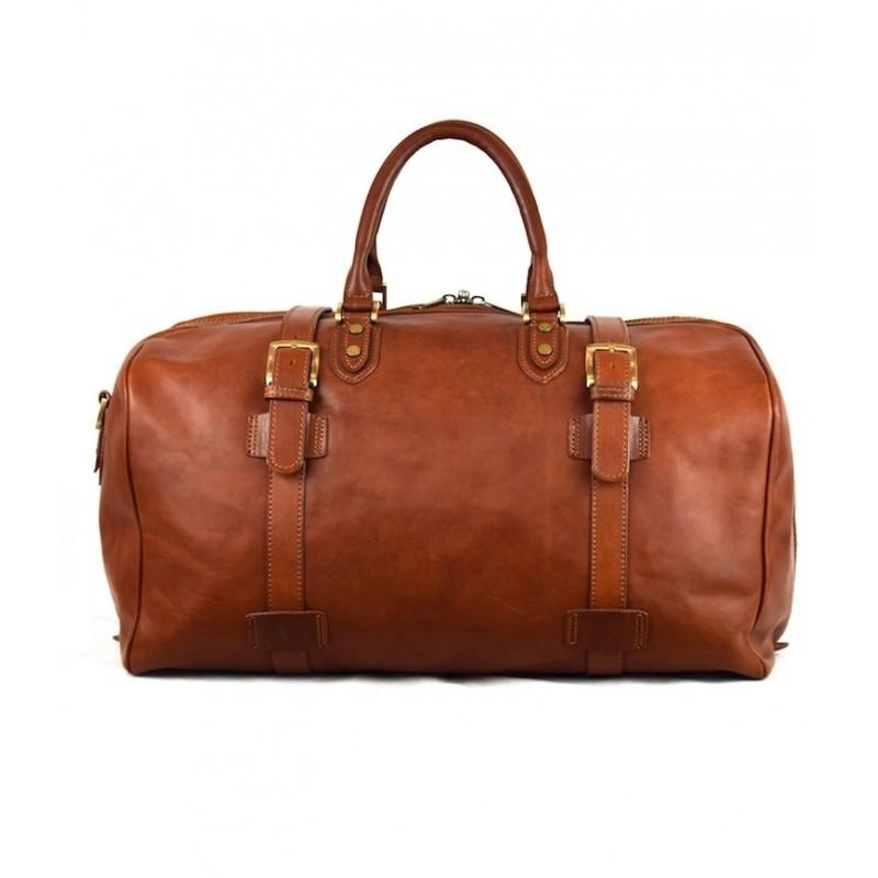 "Leather Travel bag ""Lentisco"""