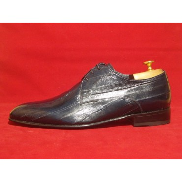 Leather Men Shoes Eel...