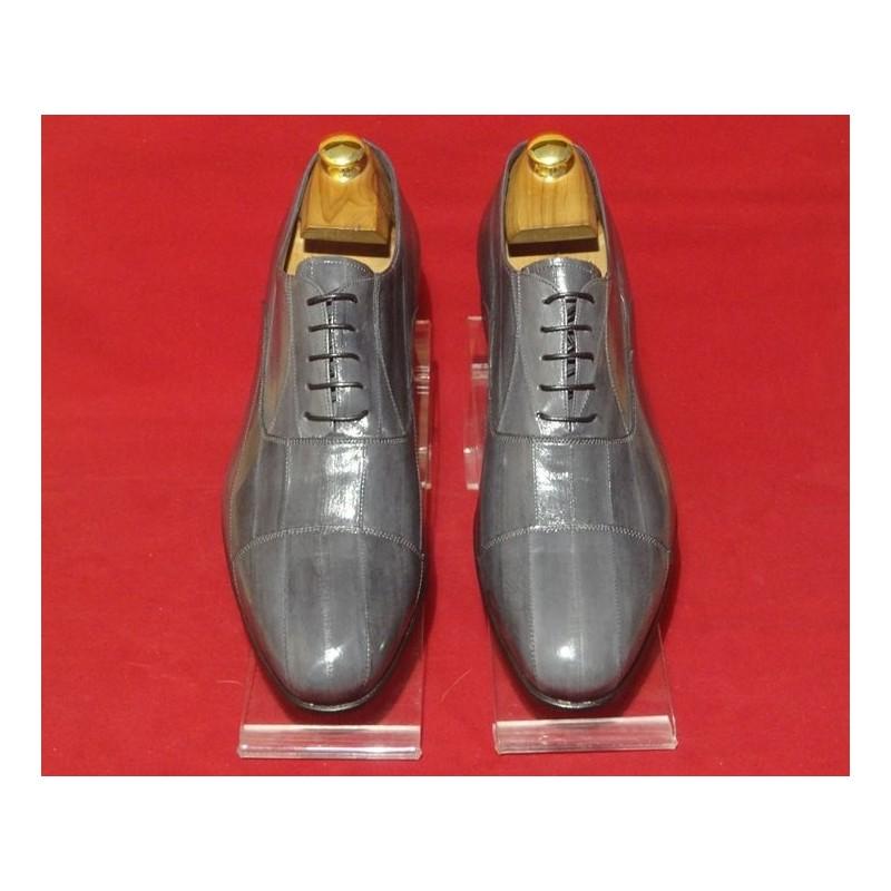 "Leather Men Shoes Eel ""Agrippa"""
