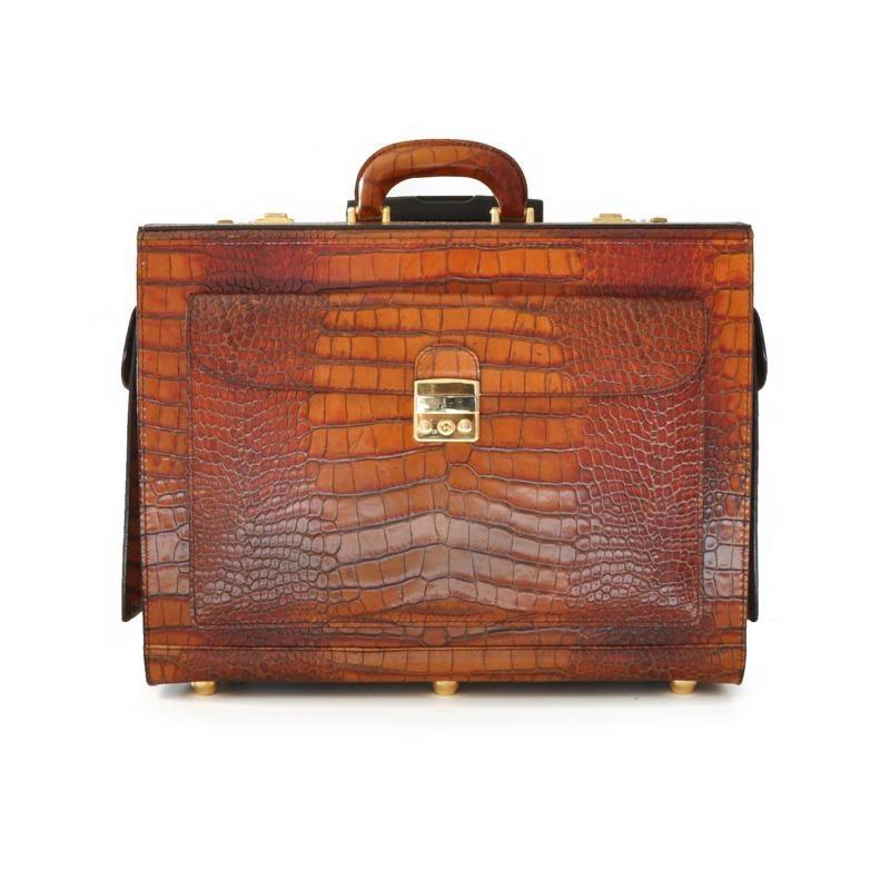 """Leather Briefcase """"Arnolfo Di Cambio"""" K408"""