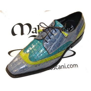 Classic Men Shoes Crocodile...