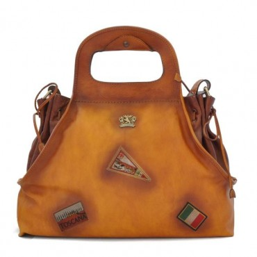 "Leather Lady bag ""Gaiole"""
