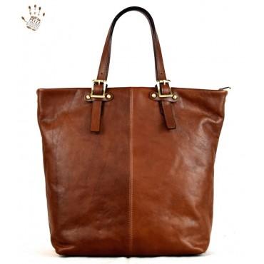 "Leather Lady bag ""Sovana"""