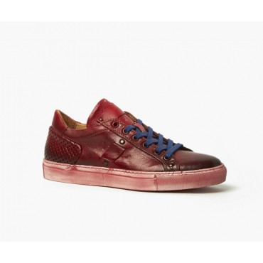Sneakers donna in pelle...