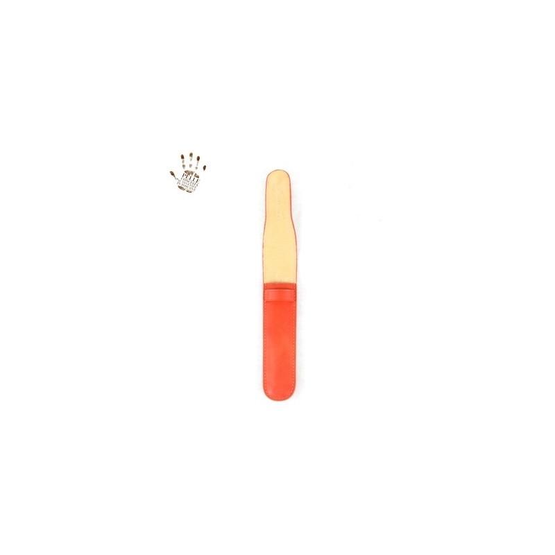 "Leather pen holder ""Vigo"""