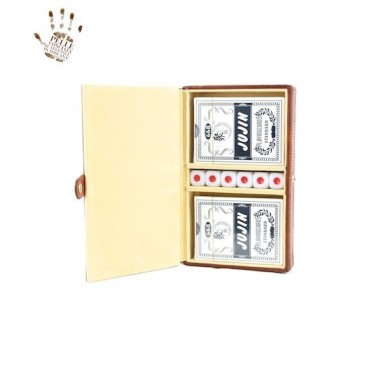 Rigid playing cards holder...