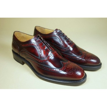 "Leather Man shoes ""Boleto"""