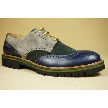"Leather Man shoes ""Gretano"""
