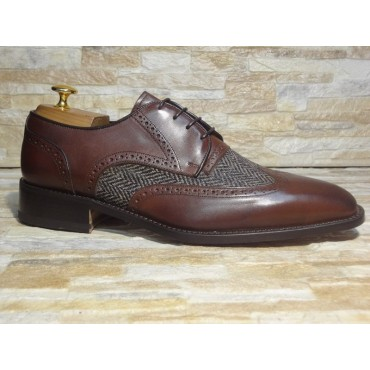 "Leather Man shoes ""Bubbola"""