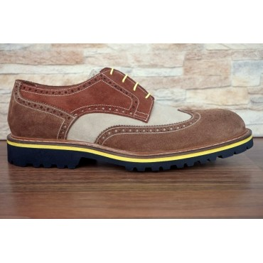 "Leather Man shoes ""Melacce"""