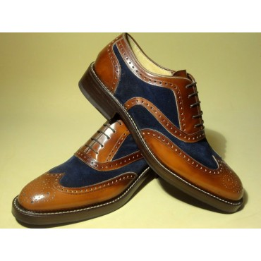 "Leather Man shoes ""Pedogna"""