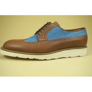 "Leather Man shoes ""Vincio"""