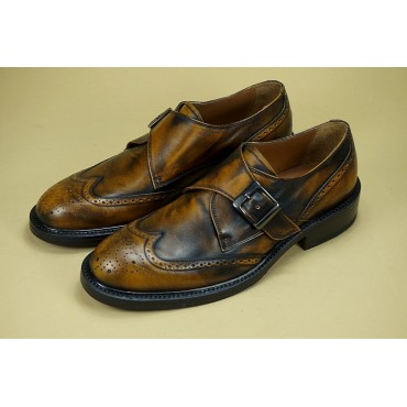 "Leather Man shoes ""Antonio"""