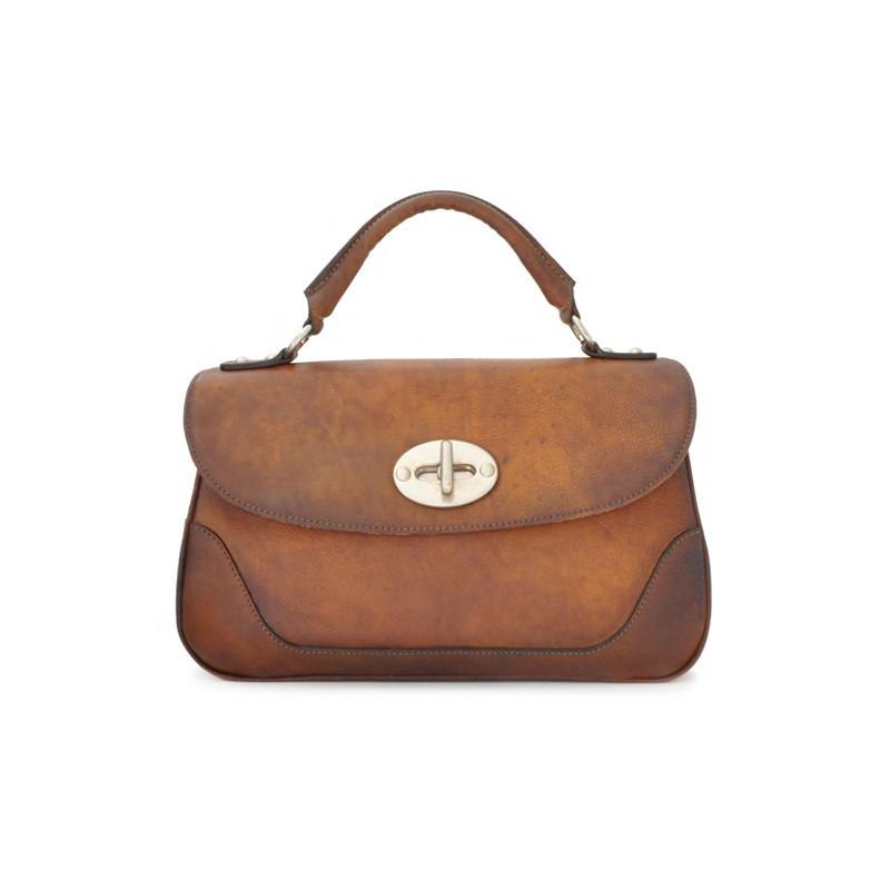 """Leather Lady bag """"Garfagnana"""" B347"""