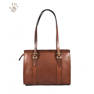 "Leather Lady bag ""Feniglia"""